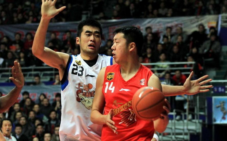 王治郅22分,八一逆转失败不敌上海