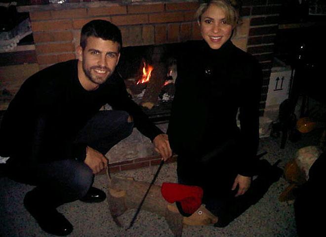 """皮克夏奇拉与西班牙圣诞习俗""""拉屎木头"""""""