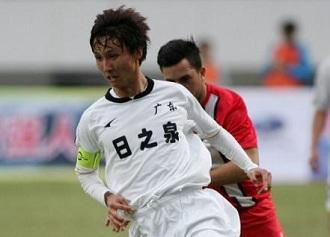 尹鸿博点杀,省港杯首回合广东1-0香港