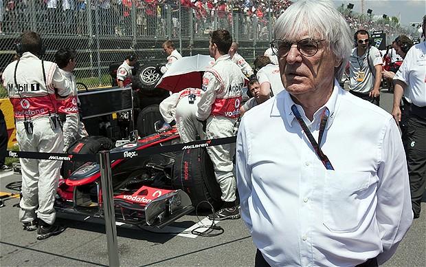 伯尼承认他的F1统治权恐将终结
