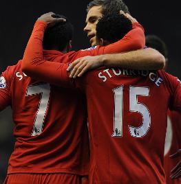 斯图里奇:希望与利物浦相爱余生