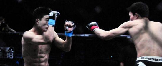 锐武百万争霸诞生5位MMA冠军