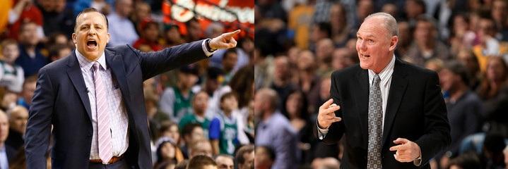 1月东西部最佳教练:锡伯杜、卡尔