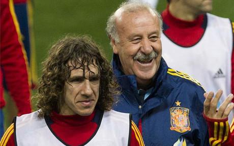 普约尔将完成西班牙国家队百场比赛