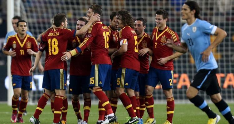 小法建功佩德罗2球,西班牙3-1乌拉圭