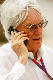 伯尼将要面见车队老板商谈F1的未来