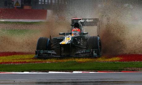 2012年F1在中国的收视数下跌34%