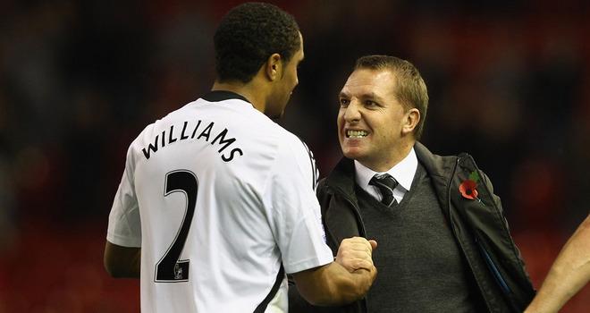 劳德鲁普:利物浦想要威廉姆斯证明他表现好