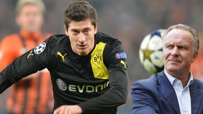 鲁梅尼格:拜仁没和多特就莱万转会一事谈判