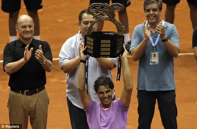 纳达尔在巴西夺得复出后首个冠军