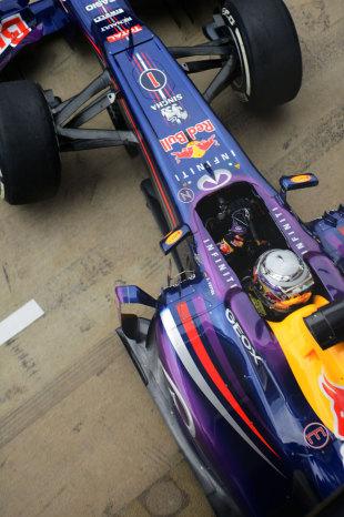 维特尔:赛道改善后还会有更好成绩