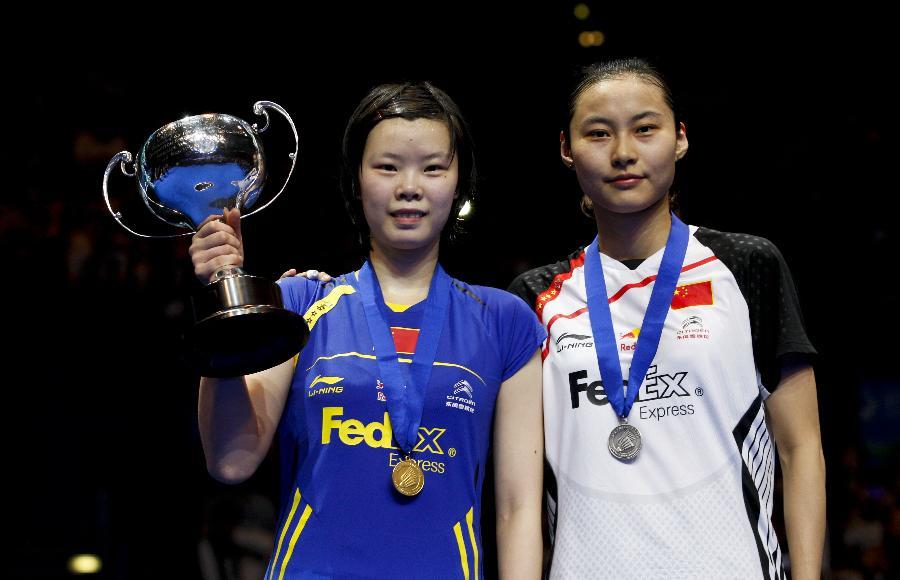 羽毛球全英赛签表:李雪芮卫冕不易