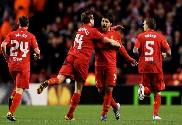 苏亚雷斯2球,利物浦3-1取胜仍遭淘汰