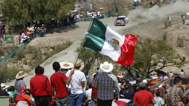 WRC2013墨西哥站整装待发