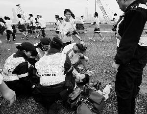 香港马拉松超600人受伤 |自拍引发混乱