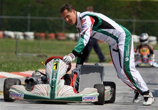 舒马赫将与维斯塔潘之子参加卡丁车赛