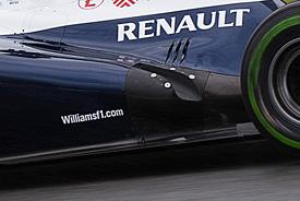威廉姆斯移除被FIA判违规的排气口设计