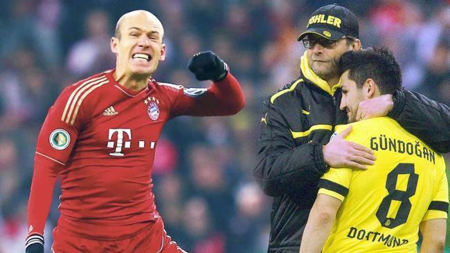 德国杯淘汰多特蒙德,拜仁球员人均5万奖金