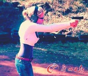 太阳报:刀锋战士女友疑似用枪高手
