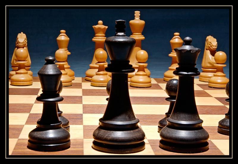 国际象棋世锦赛中国队开门红