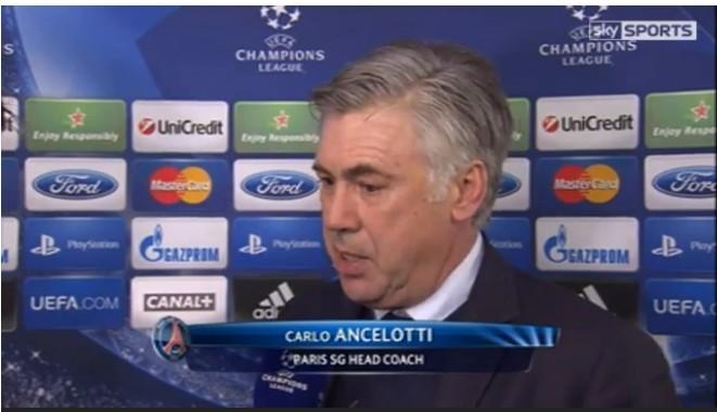 安切洛蒂:满意晋级八强|夺冠很困难