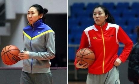 苗立杰、赵爽代表八一女篮出战全运会