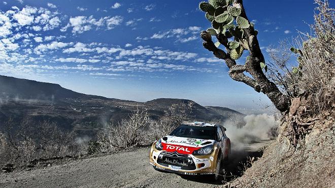 WRC墨西哥站:赫沃宁资格赛段强势回归
