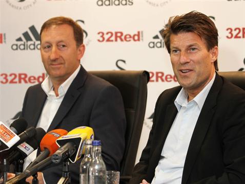 官方:劳德鲁普与斯旺西续约至2015年
