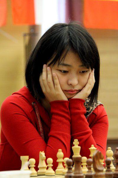 中国国际象棋女队憾居世团赛亚军