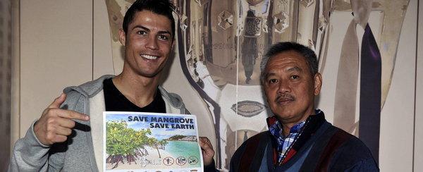 C罗:印尼保护红树林形象大使