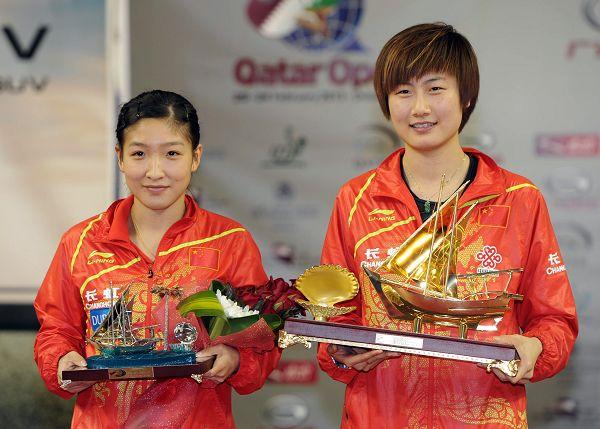 刘诗雯将取代丁宁出战乒乓球亚洲杯赛