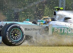 汉密尔顿:赛车的速度让人非常满意