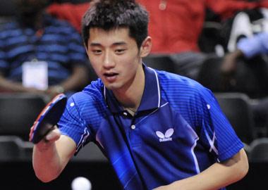 亚欧乒乓球明星挑战赛对阵名单出炉