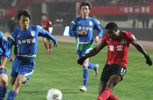卡通戈2球,河南建业3-0贵州智诚