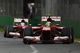 法拉利:速度比轮胎管理重要