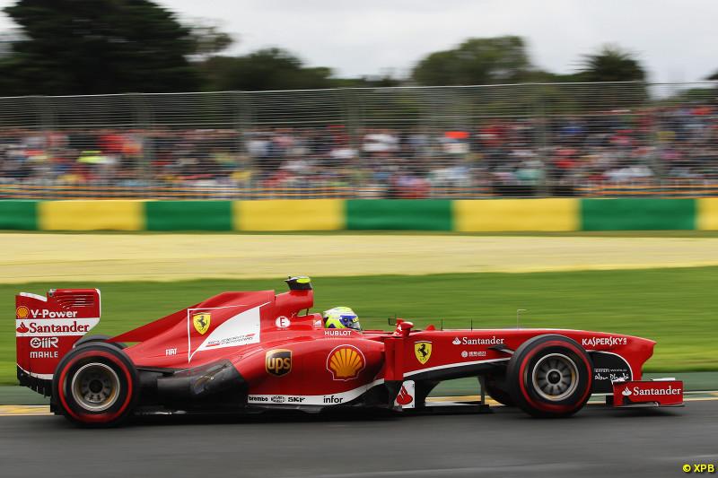 阿隆索:车队的目标还是领奖台