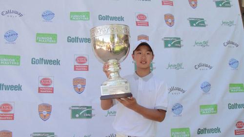 12岁叶沃诚将打高尔夫中国公开赛