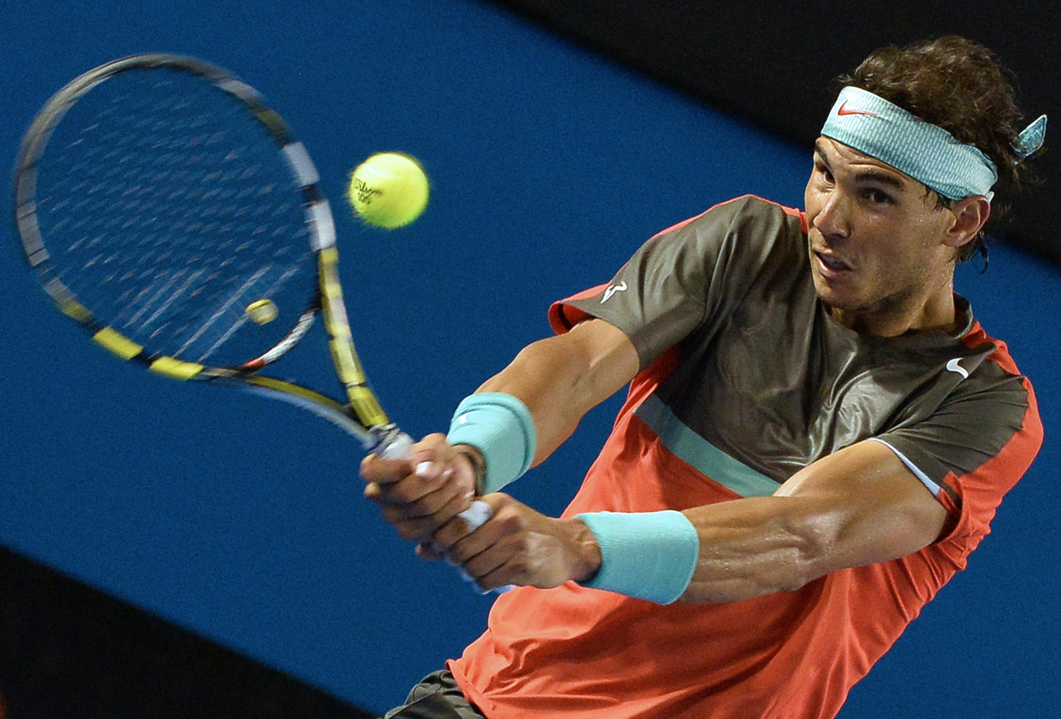 法国门将_纳达尔澳大利亚网球公开赛中漂亮的回击_虎扑其他新闻