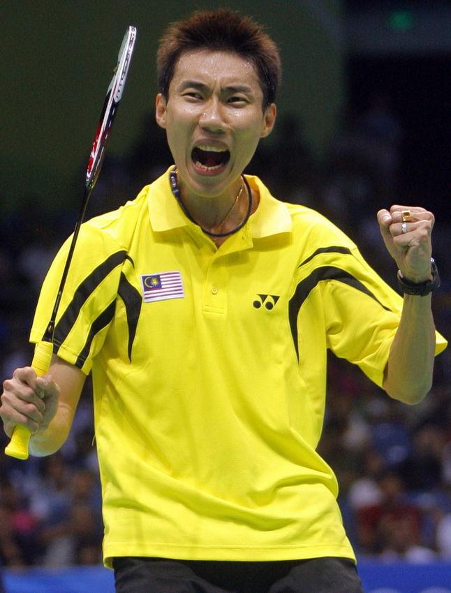 大马赛中国收三冠,李宗伟男单七连霸