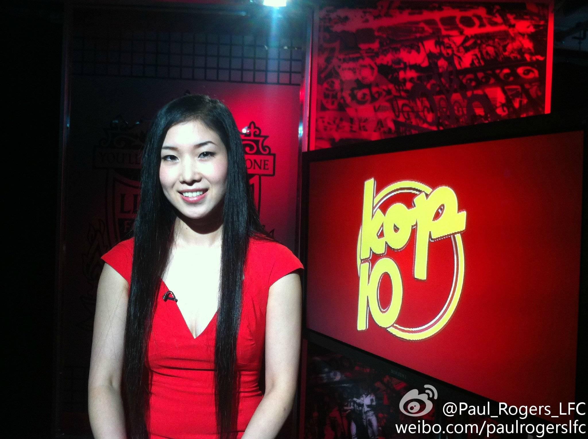 名人专访: 利物浦电视台中文主播