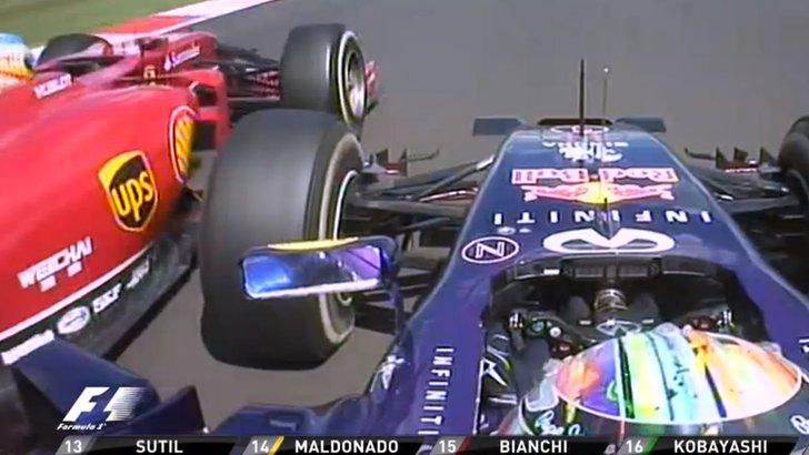 阿隆索:维特尔下一圈也能超我,赛车有故障