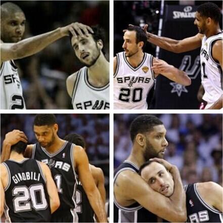 邓肯拥抱帕克_帕克:吉诺比利的秃头已经没救_虎扑NBA新闻