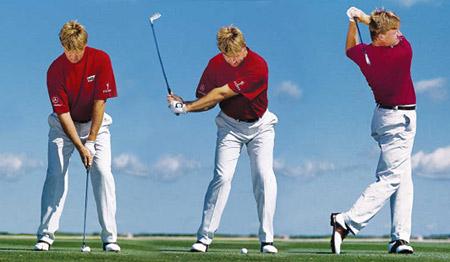 高尔夫的挥杆要领和挥杆技巧