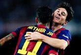 内马尔:梅西首球不可思议!巨星