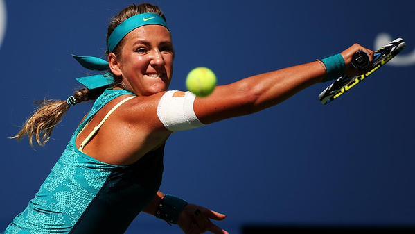 阿扎伦卡连续第四年晋级美网八强