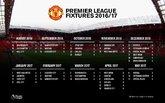 曼联2016-17赛季英超联赛完整赛程