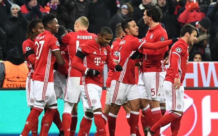 拜仁慕尼黑官网_15连胜!拜仁慕尼黑刷新欧冠主场连胜纪录_虎扑国际足球新闻
