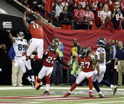 2016赛季NFL季后赛分区赛前瞻 海鹰@猎鹰