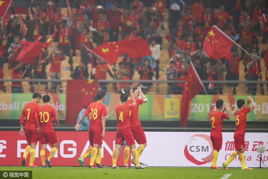 传中国杯总奖金70万美元,第三名将获15万