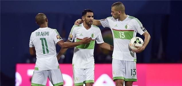 非洲杯:马赫雷斯双响救主阿尔及利亚,塞内加尔胜突尼斯